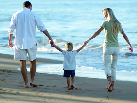 casal com filho