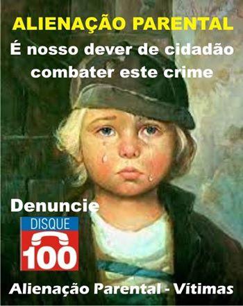 Alienação Parental é crime, denuncie!