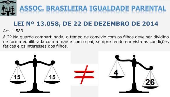 A balança comprovadamente desigual da justiça brasileira